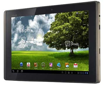 Tablet Asus TF101-1B199A 10.1in T250 1GB 16GB Wi-Fi 5MP