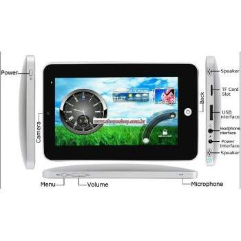"""Tablet PC 7 \""""Epad Android 2.3 ROM 4GB WiFi"""