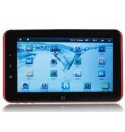 """Tablet PC C71 7\"""" Android 2.3 Cortex A9 800MHz 5 Points Capacitive Screen WiFi Camera G-sensor"""