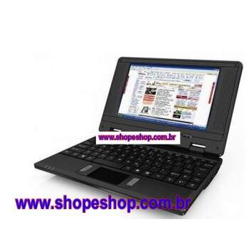 Netbook 7 polegadas VIA WM8650 Andriod 2,2