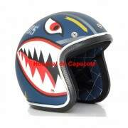 Capacete Custom Old School Air Force (Sob encomenda)