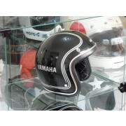 Capacete Custom Old School Yamaha Stripes