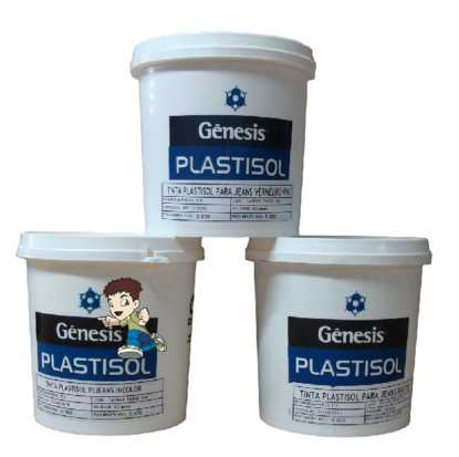 Tinta Plastisol Relevo Base - 900ml
