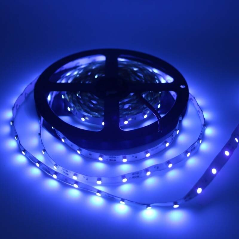Fita Led 12V - 3528 c/ 300 leds 24W - IP20 c/5 metros