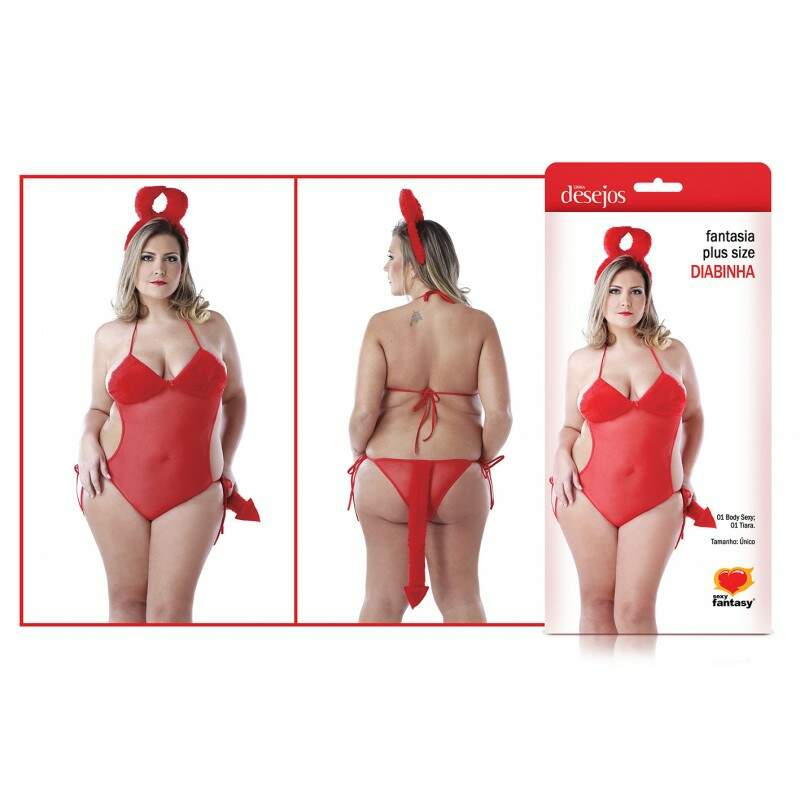 FANTASIA DIABINHA PLUS SIZE SF - [0970]