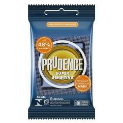 PRESERVATIVO PRUDENCE SUPER SENSITIVE COM  3UN - [1571]