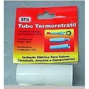 TERMORETRATIL PVC DIAM. 31.8MM / CHATO 50MM - BRANCO
