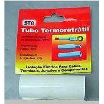 TERMORETRATIL PVC DIAM. 49,7MM / CHATO 78MM - BRANCO
