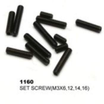 SET SCREW 3X6 3X12 3X14 3X16 3 EACH