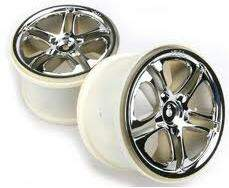 TRAXXAS 3./ SS WHEELS CHROME (R)