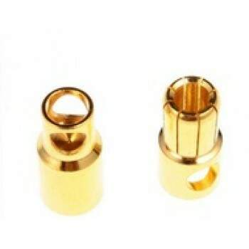 CONECTOR GOLD 6,0MM - MACHO/FEMEA 2 PARES