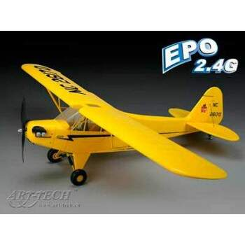 PIPER J3 EPS RTF COMPLETO RADIO/MOTOR BRUSHLESS/BAT LIPO