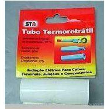 TERMORETRATIL PVC DIAM. 95,4MM / CHATO 150MM - BRANCO