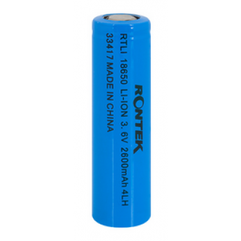BATERIA LI-ON CILINDRICA 18X65MM 3.7V X 3000MAH