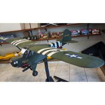 PIPER L4 HOBBY KING C/ MOTOR SUPER TIGRE 91 2T