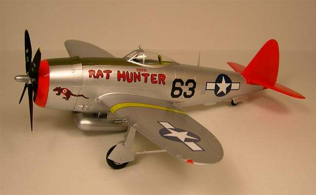 P-47D RAT HUNTER 1:48