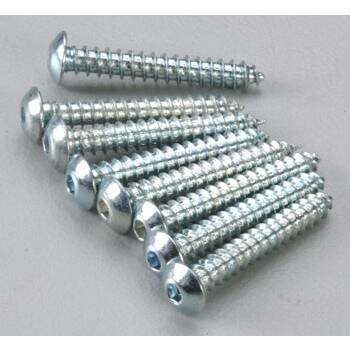 BUTTON HEAD SHEET METAL SCREWS 4 X 3/4
