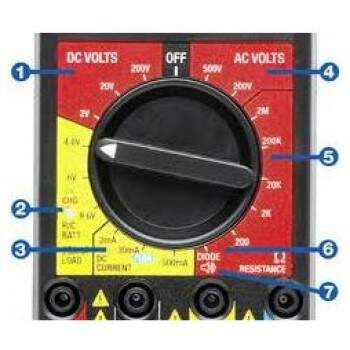 DIGITAL R/C MULTI-METER