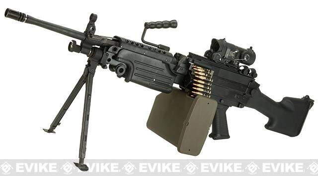 RIFLE DE AIRSOFT G&P - SAW M249 - MARINE