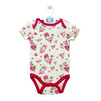 Body Bege Floral