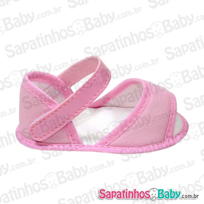 Kit 3 Pares Sapatinho para Customizar Rosa (Grade = P/M/G)