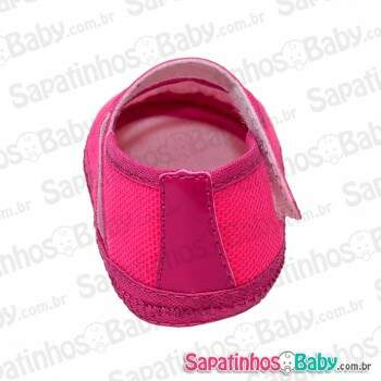 Kit 3 Pares Sapatinho para Customizar Pink (Grade = P/M/G)