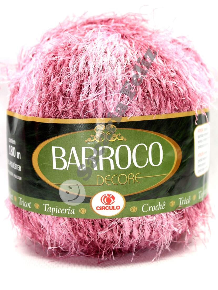 Barbante Barroco Decore Rosa Claro Cod. 913