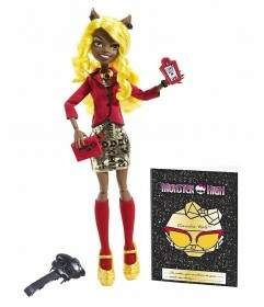 Clawdia Wolf Monster High Frights, Camera, Action!