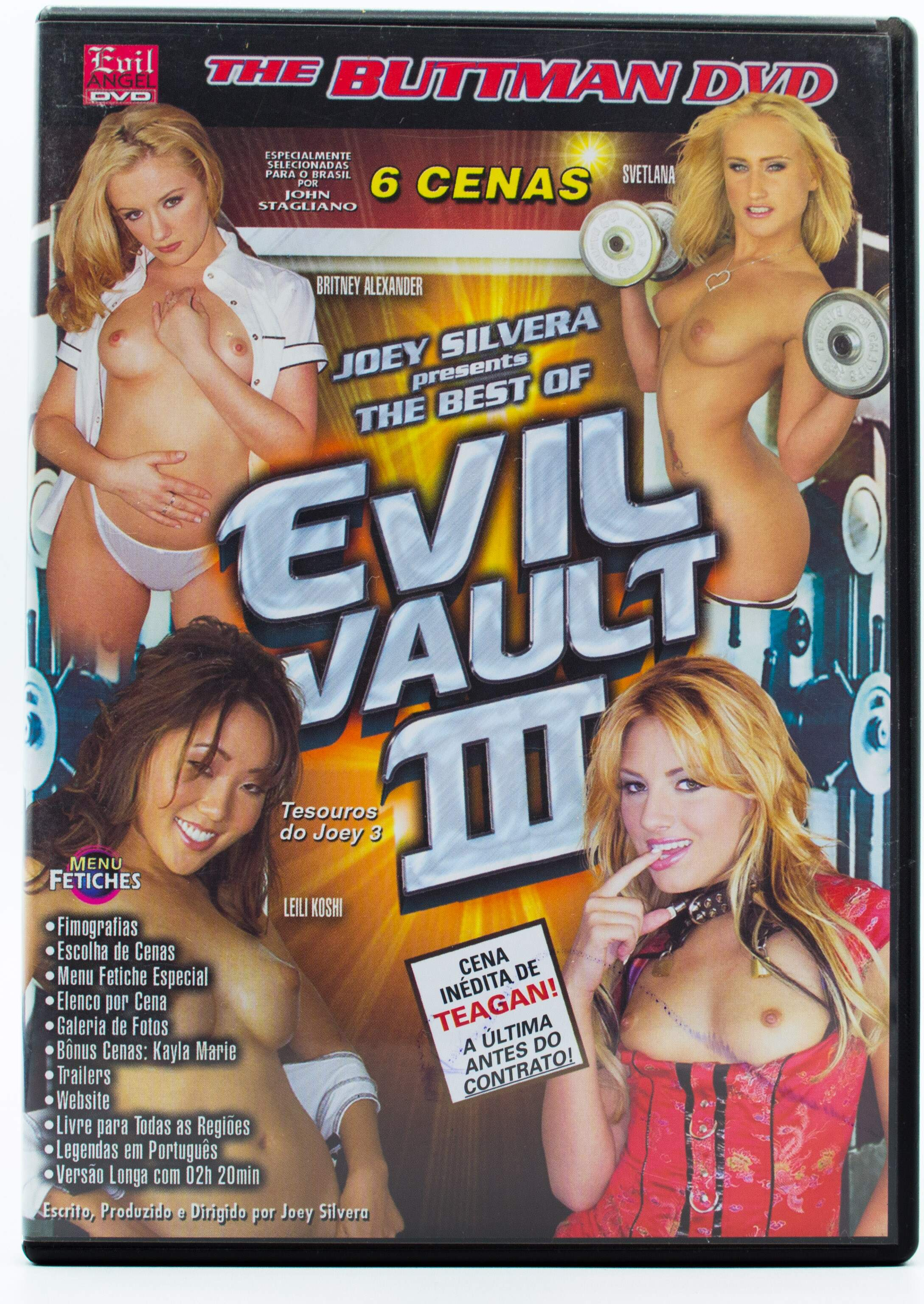 The Buttman DVD - The Best of Evil Vault III (Tesouros do Joey #3)