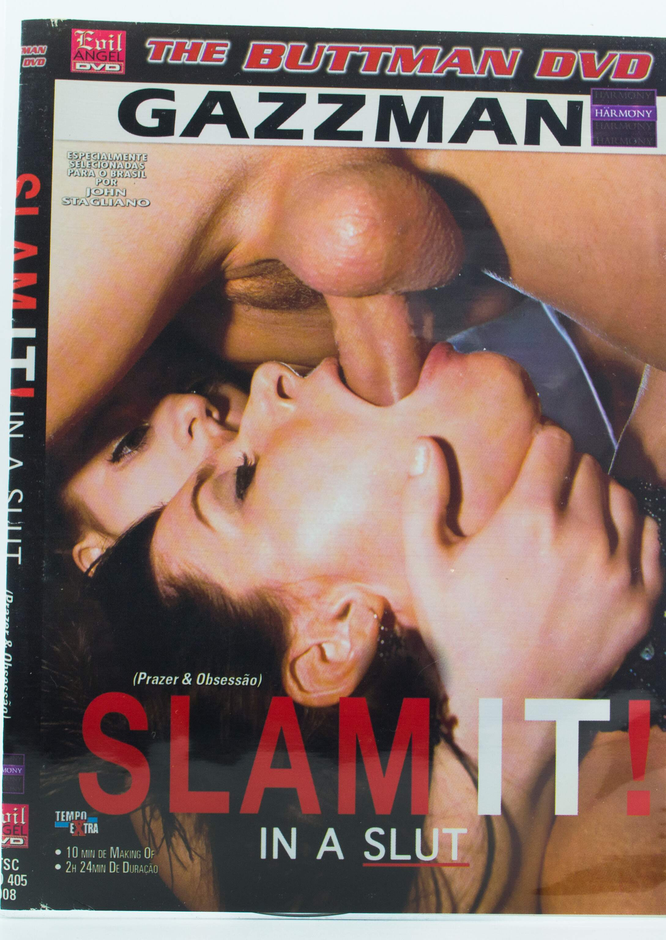 The Buttman DVD - Slam It! In a Slut (Prazer e Obsessão)
