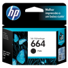 Cartucho HP 664 Preto 2ml F6V29AB .