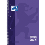 Caderno A4 European Book 1 80fls (unidade) Oxford .
