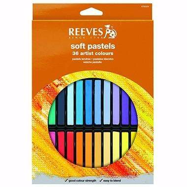 Giz Pastel Seco Reeves 36 Cores PS36