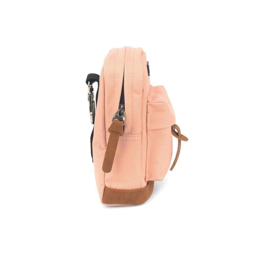 Mini Mochila Chaveiro Up4You MS45562UP Luxcel Rosa Claro