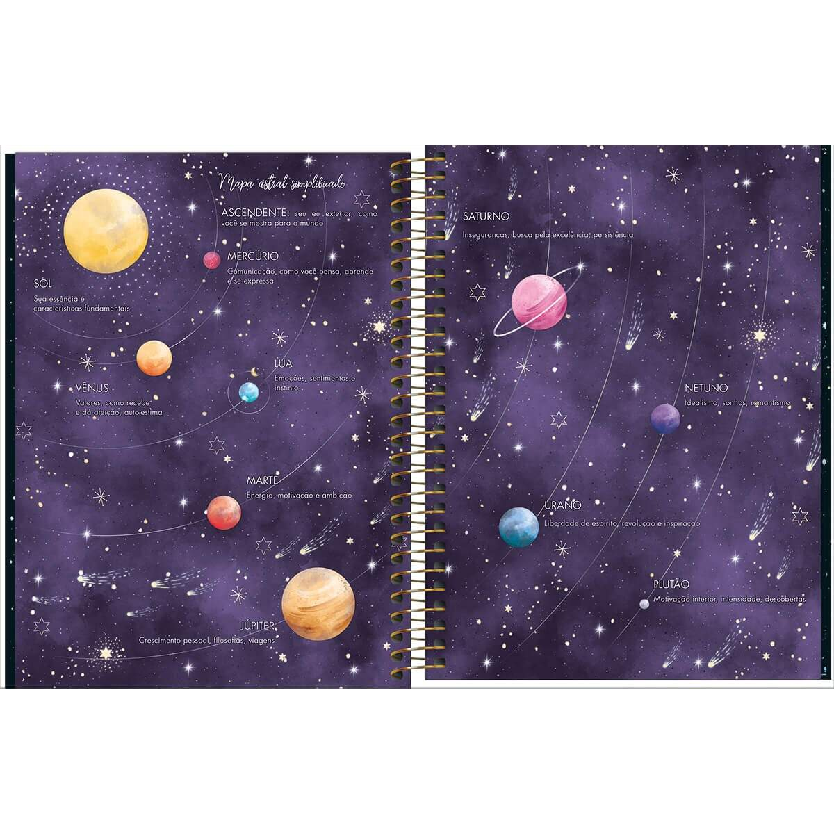 Planner Espiral 2020 Magic M7 304387 Tilibra