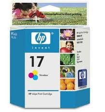 Cartucho de Tinta HP 17 Color 15ml c6625al