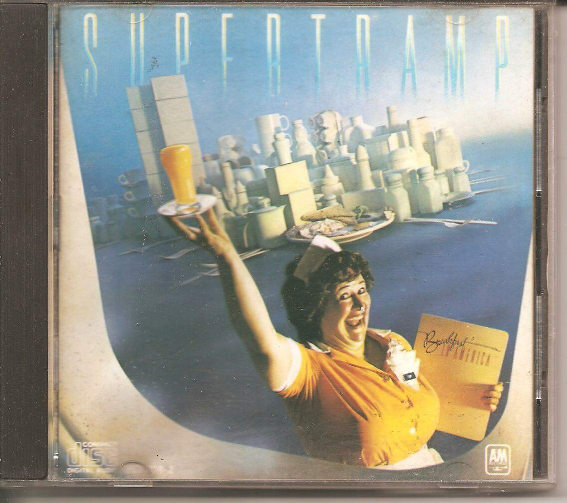 CD SUPERTRAMP - BREAKFAST IN AMERICA