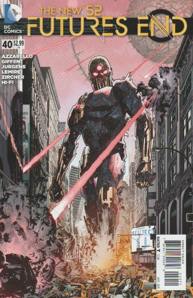 GIBI THE NEW 52 - FUTURES END N°40