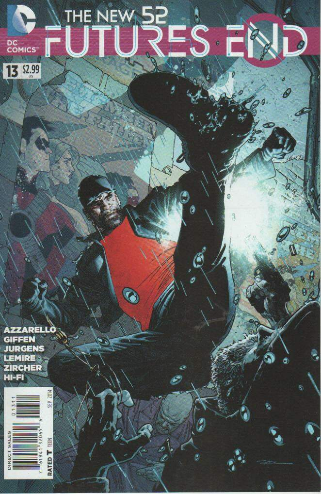 GIBI THE NEW 52 - FUTURES END N°13