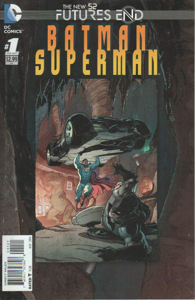 GIBI BATMAN / SUPERMAN - FUTURES END N°01