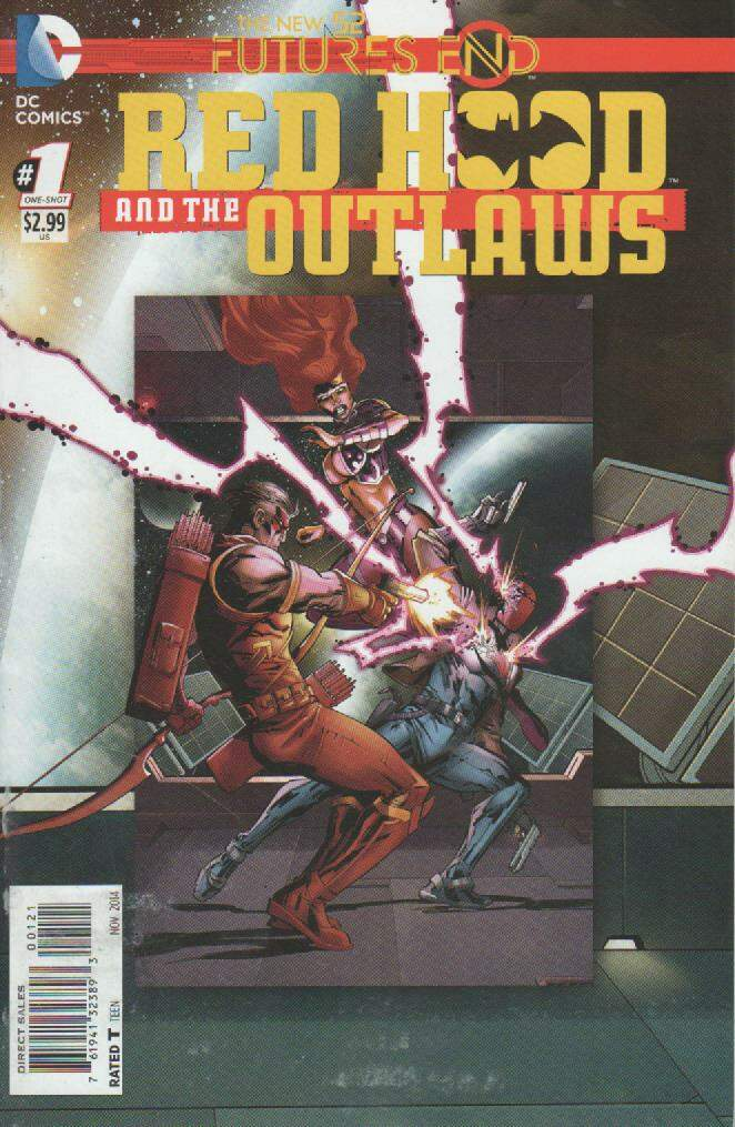 GIBI RED HOOD AND THE OUTLAWS - FUTURES END N°01