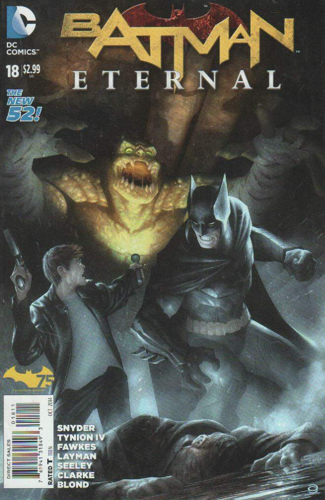 GIBI BATMAN ETERNAL N°18