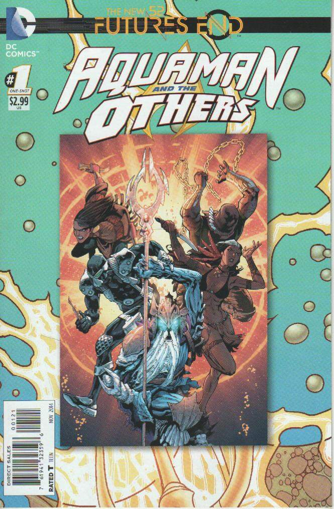 GIBI AQUAMAN AND THE OTHERS - FUTURES END N°01