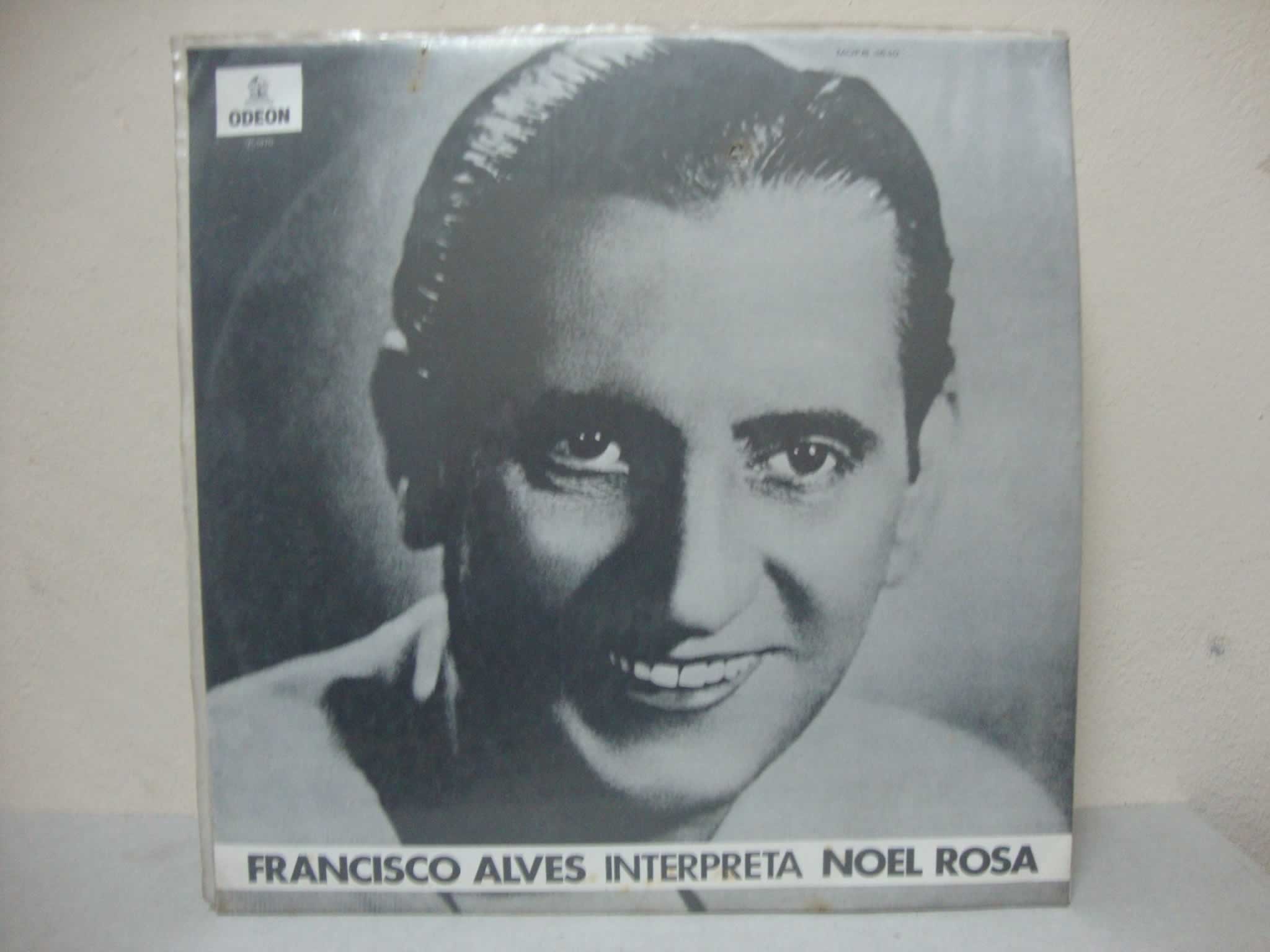 VINIL FRANCISCO ALVES INTERPRETA NOEL ROSA