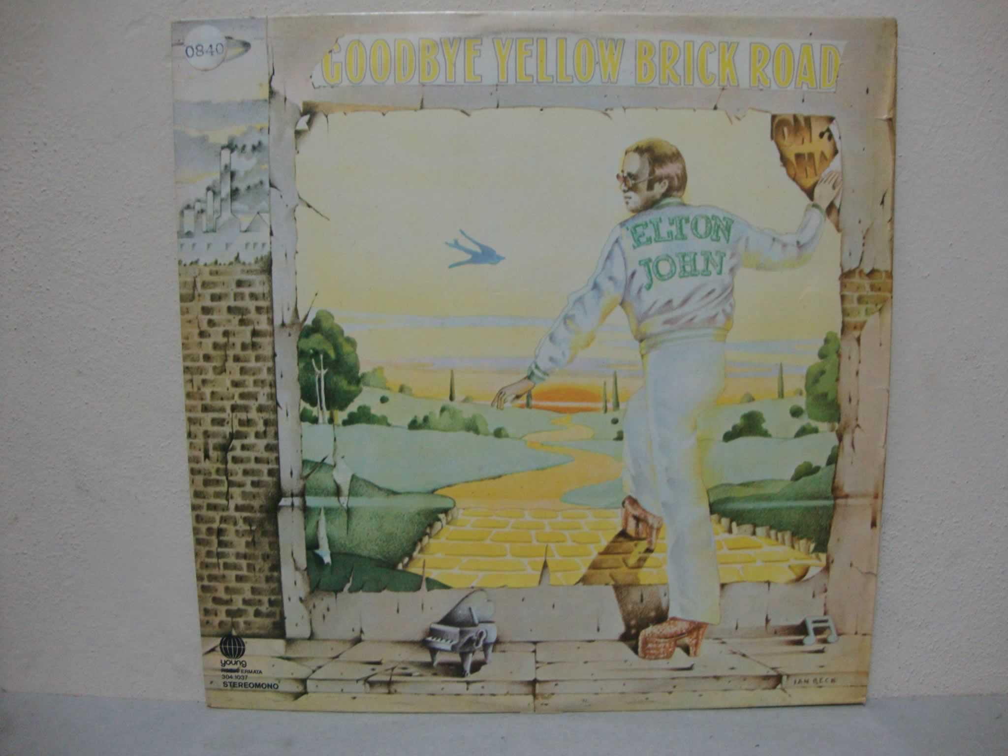 VINIL ELTON JOHN - GOODBYE YELLOW BRICK ROAD