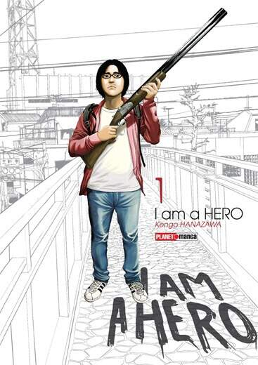 MANGÁ I AM HERO Nº01