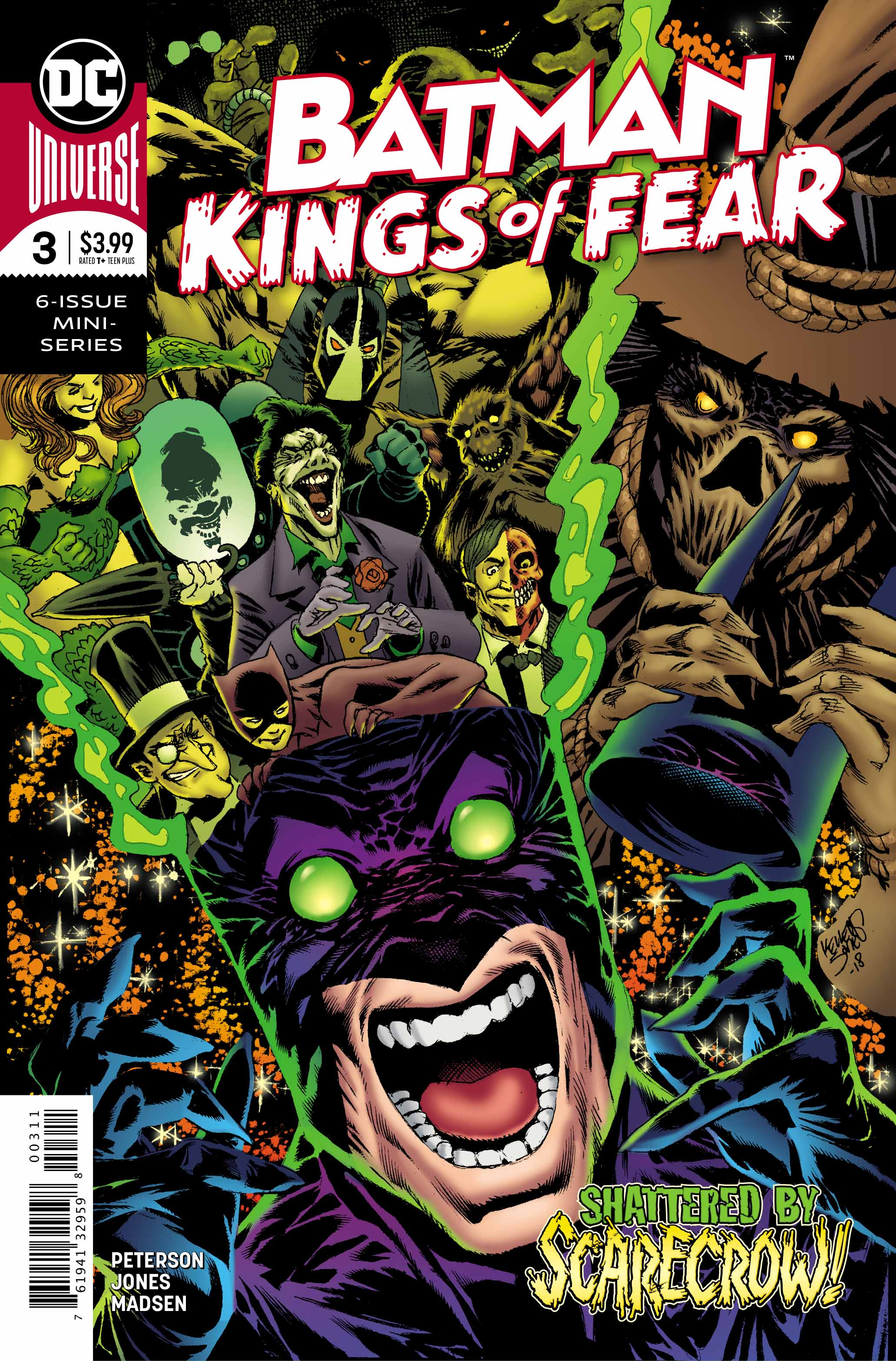 GIBI BATMAN KINGS OF FEAR Nº03