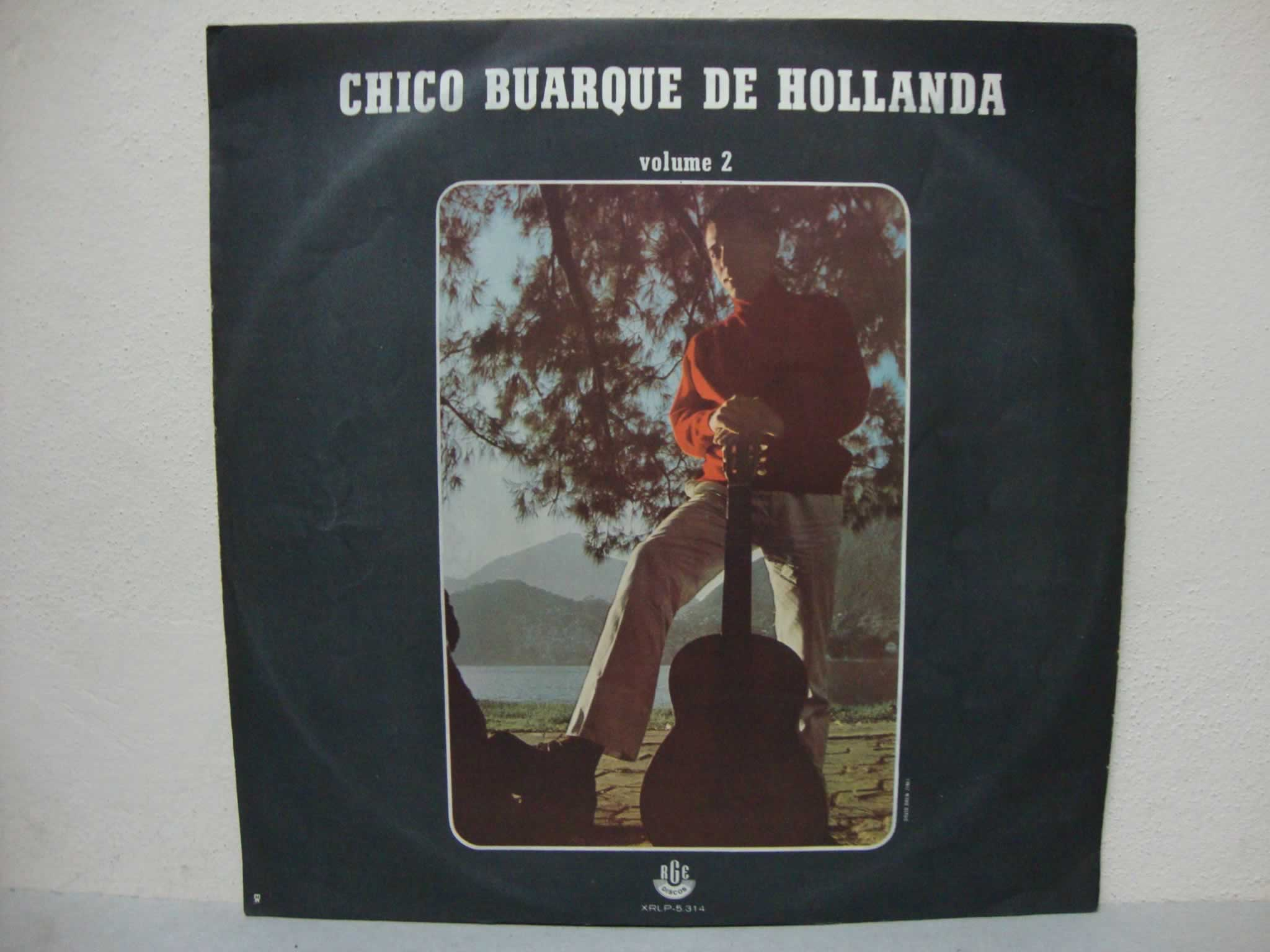 VINIL CHICO BUARQUE DE HOLLANDA VOLUME 2