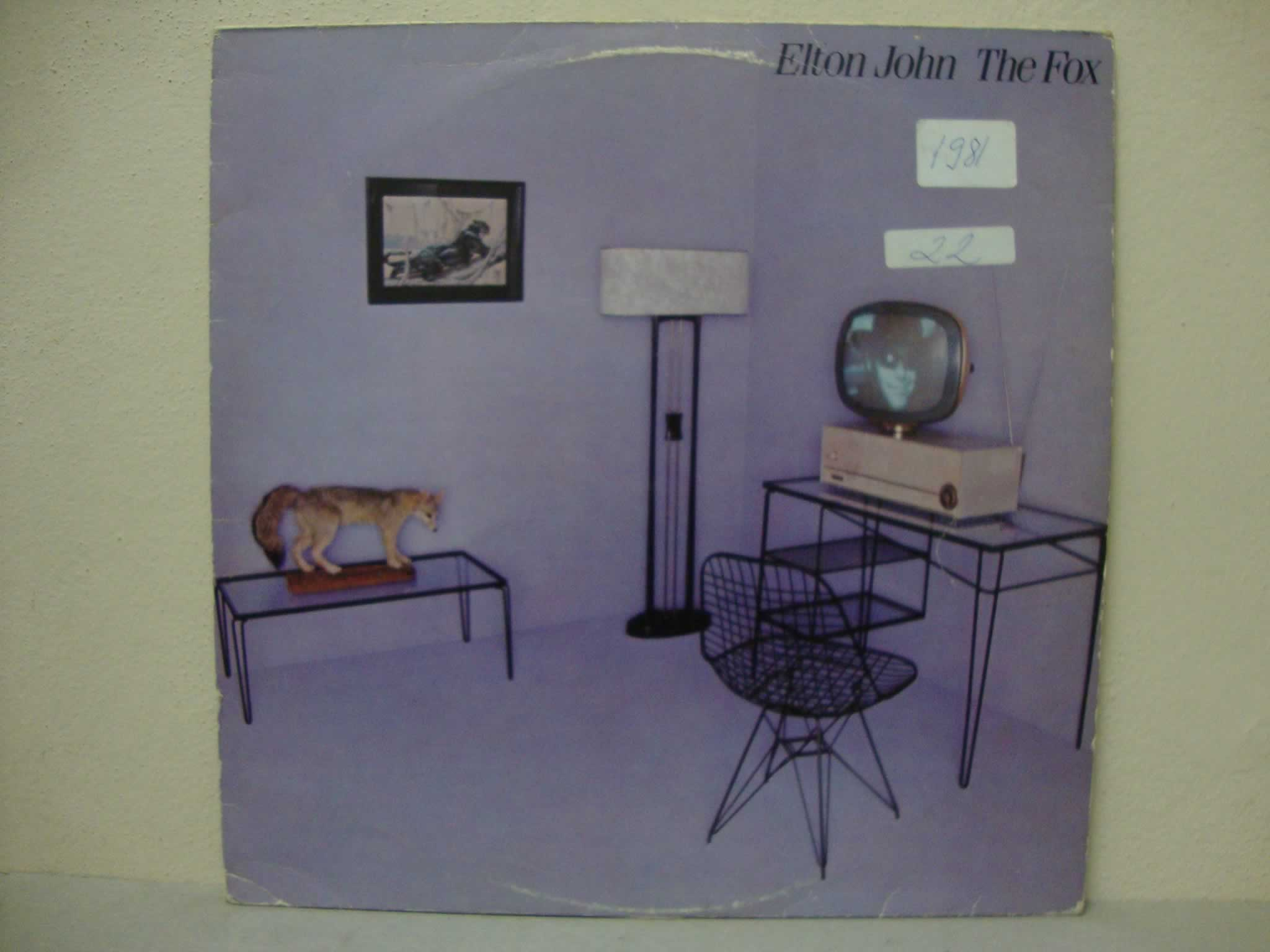 VINIL ELTON JOHN - THE FOX