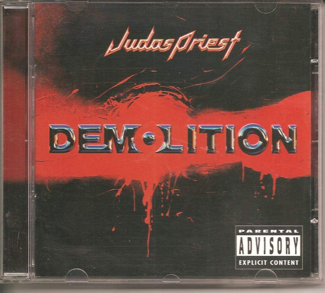CD JUDAS PRIEST - DEMOLITION